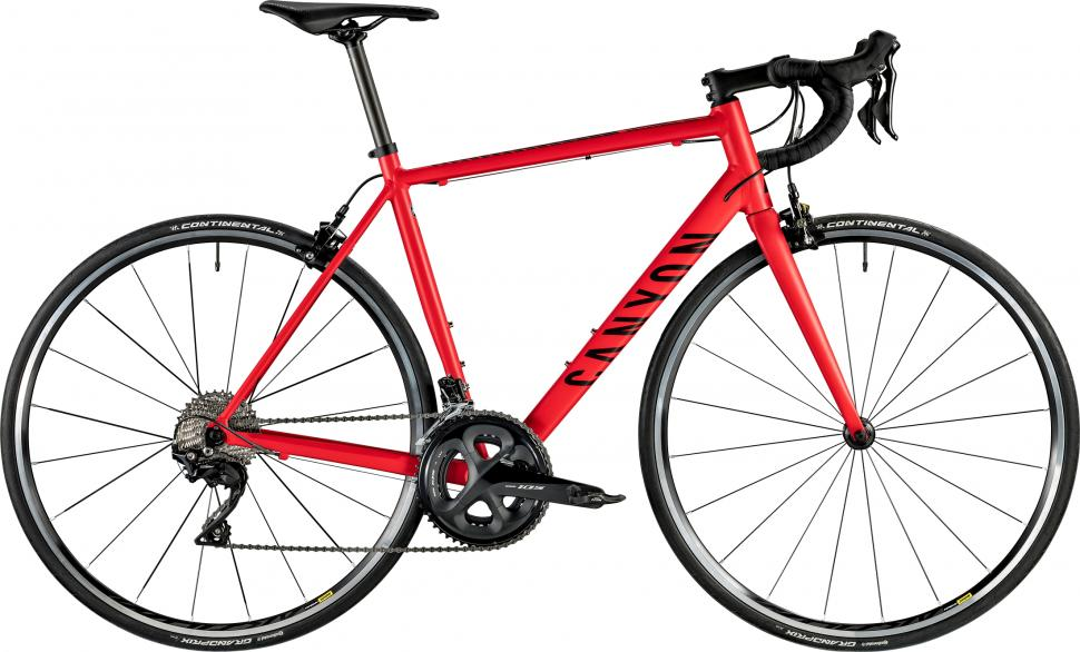 2019 Canyon Endurace AL 7 red