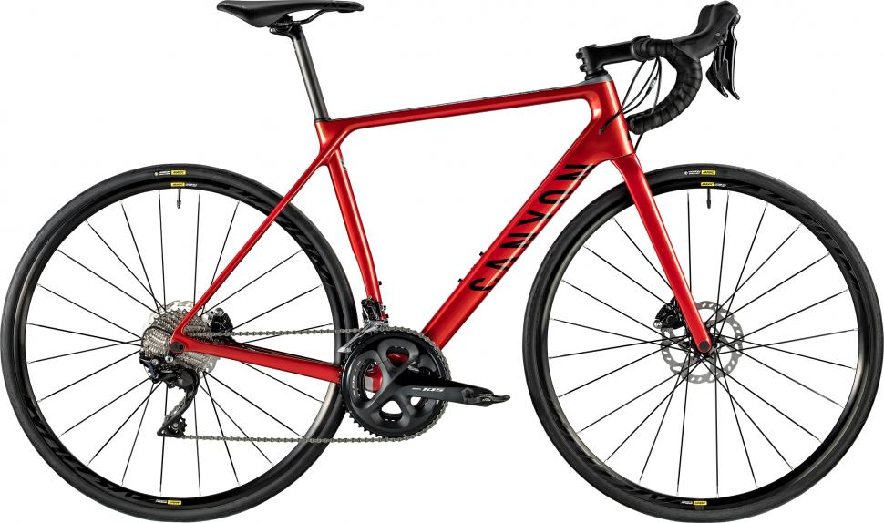 2019 Canyon endurace cf sl disc 7.0 red