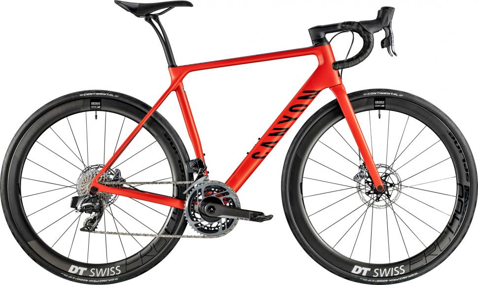 2019 Canyon endurace cf slx disc 9.0 sl