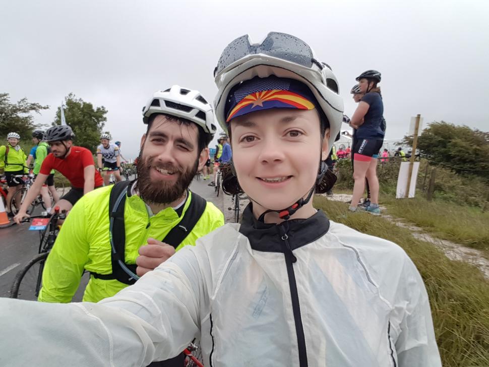 Laura and John at Ditchling Beacon