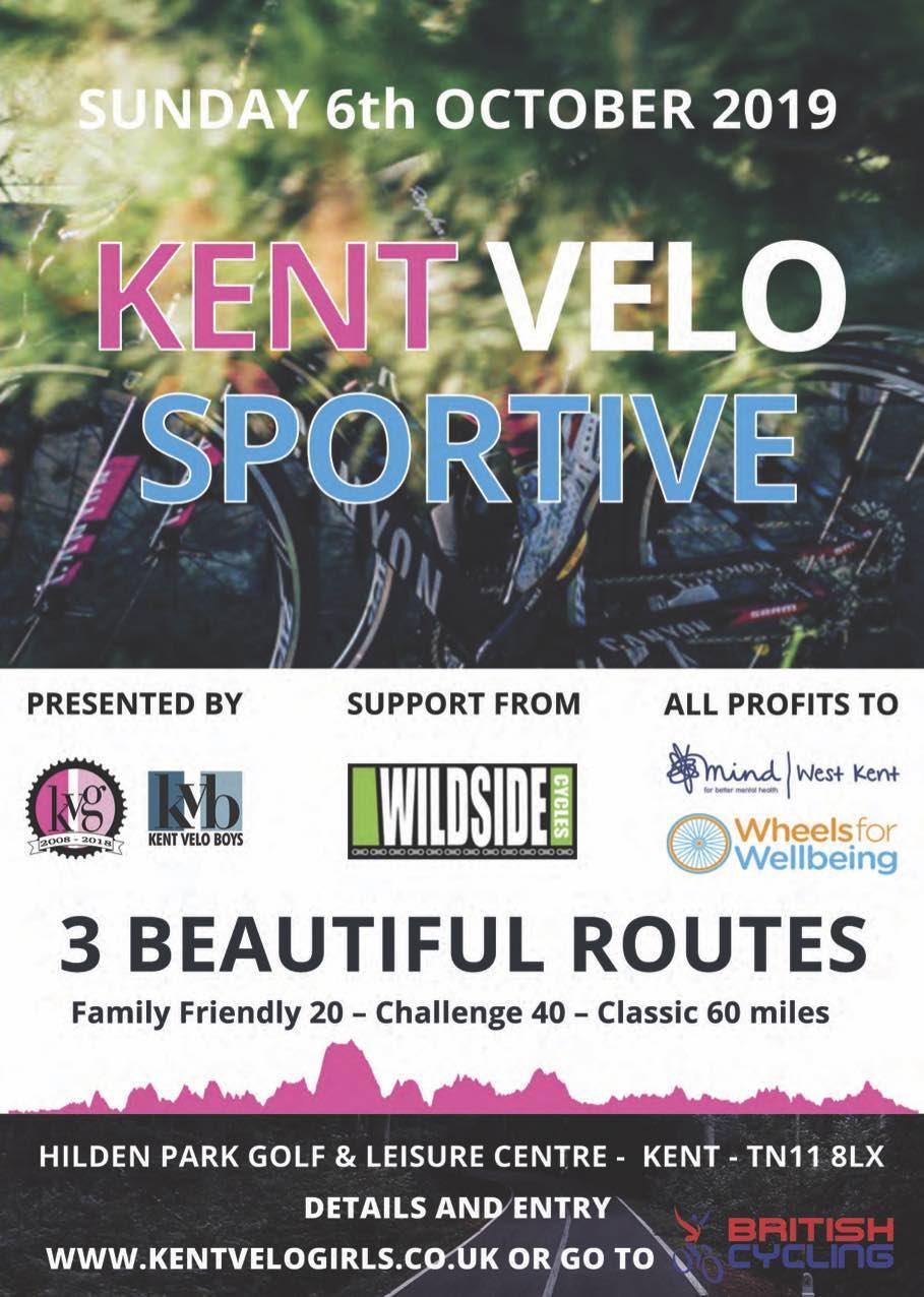Kent Velo Sportive 2019