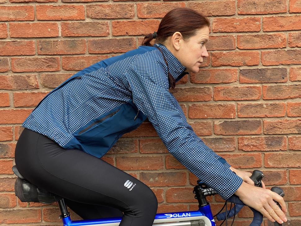 NEW Polaris Cycling Reflective Tights Men S Small Hi Viz NOS Running Walking