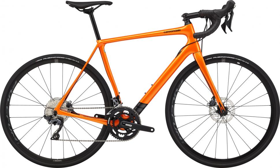 2020 Cannondale SYNAPSE CARBON DISC ULTEGRA orange