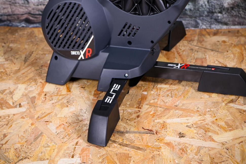 Ready To Go For Winter Elite Direto XR Direct Drive Smart Trainer W// Cassette