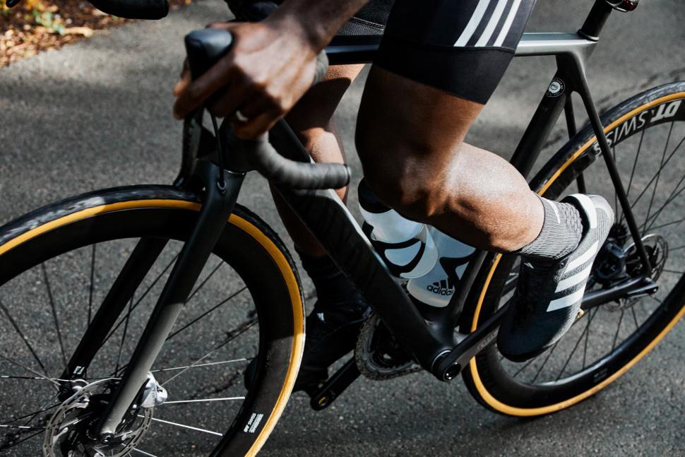 Adidas re-enters road cycling footwear