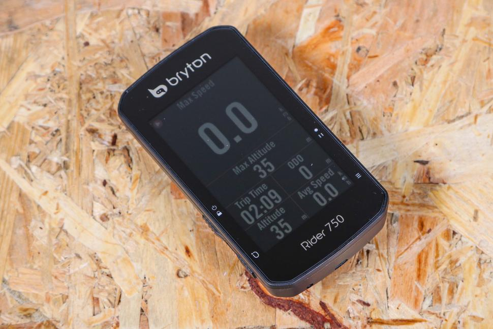 2021 Bryton Rider 750T GPS Cycle Computer Bundle With Speed-Cadence & Heart Rate Monitor - front.jpg