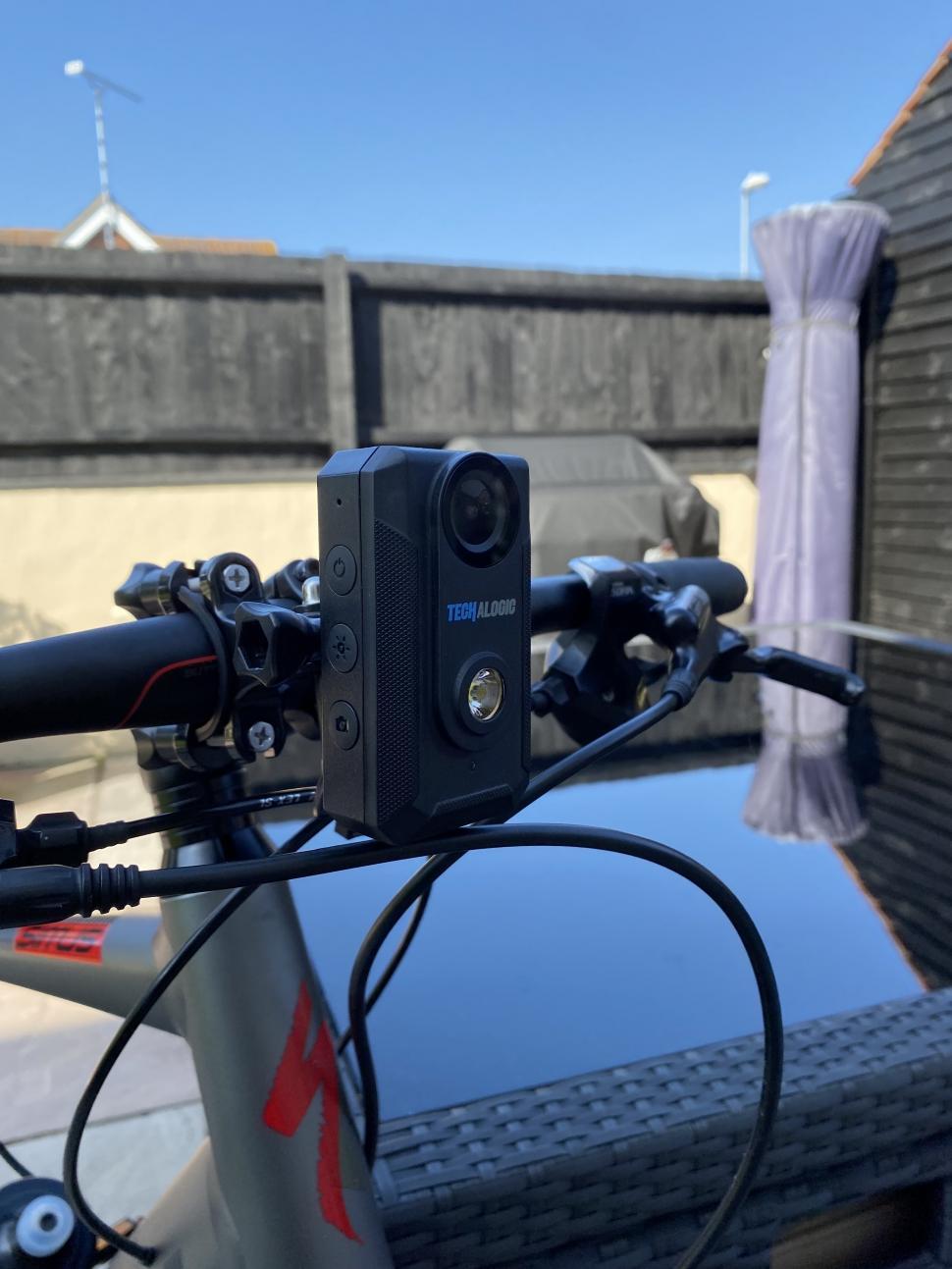 2021 techalogic camera light combo front