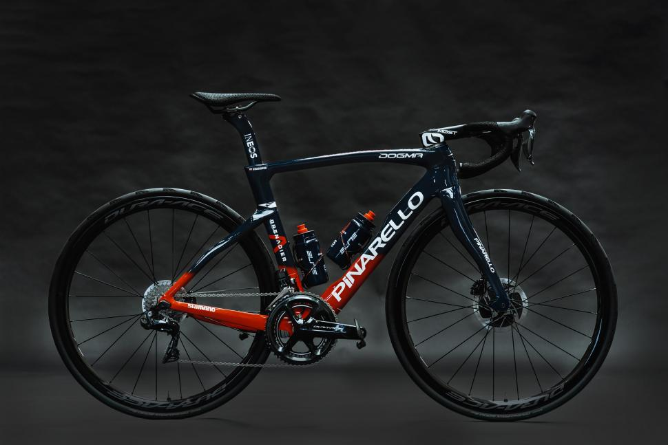 Ineos Grenadiers are racing on disc brakes… finally