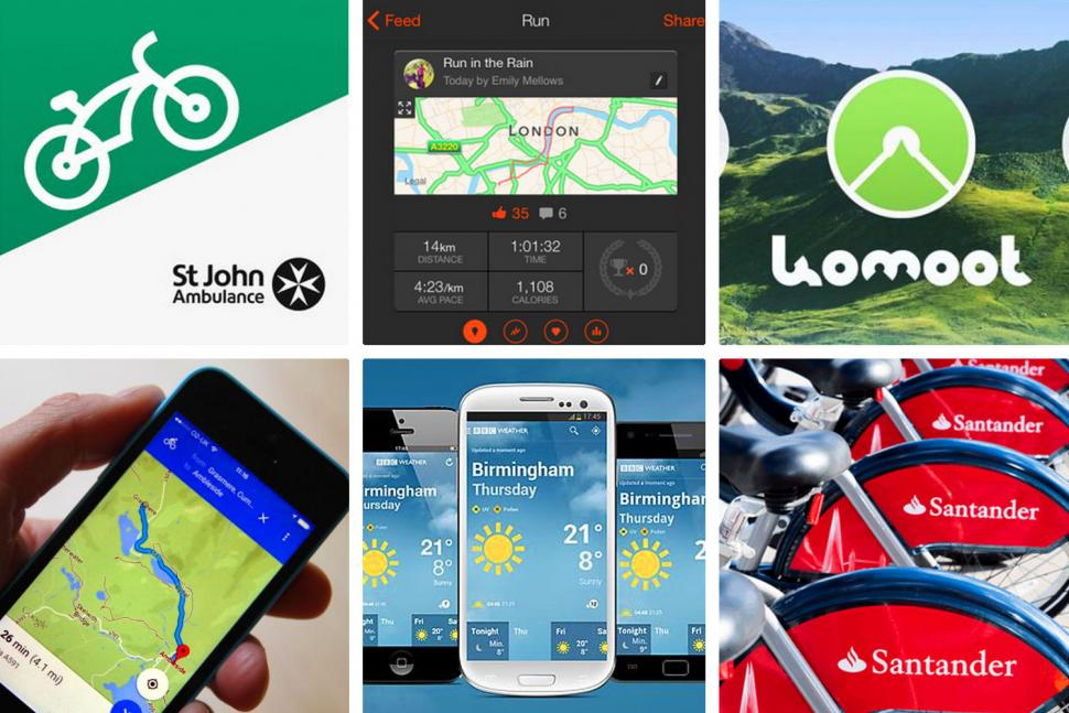 28 of the best smartphone cycling apps October 2018