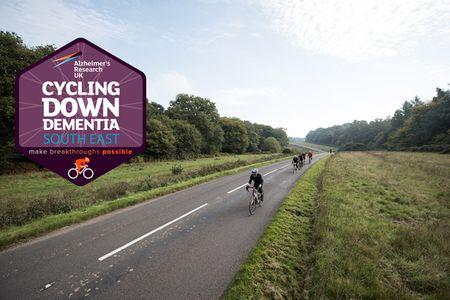 Cycling Down Dementia South East, 70, 44, 22 Miles, Sat 9th Nov