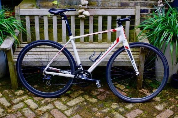Stolen bike dumped via Jon Rowe