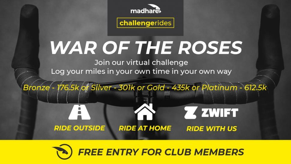 Madhare cycling virtual challenge