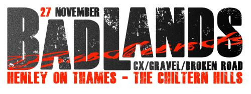 Badlands CX 27 November, Henley-on-Thames