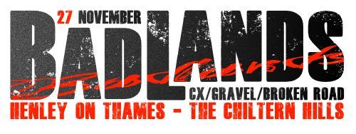 Badlands CX 27 November, Henley-on-Thames
