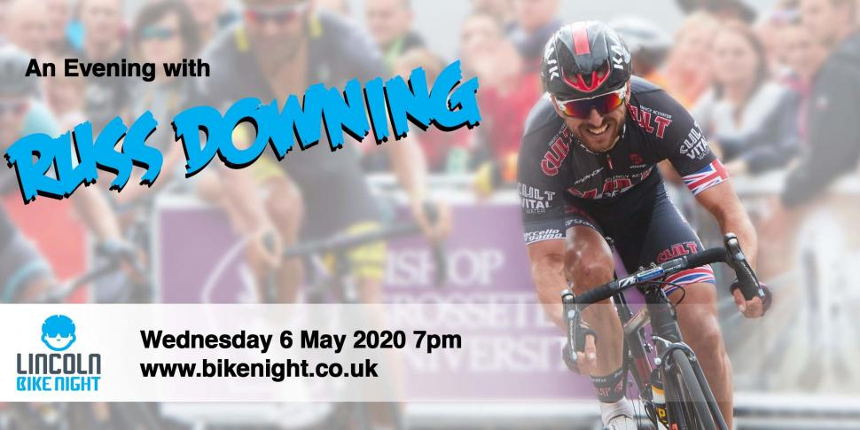 Lincoln Bike Night presents An Evening with Russ Downing