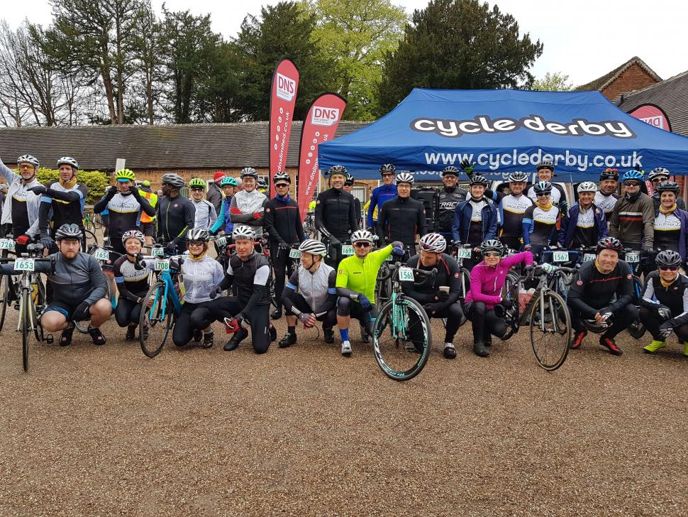Cycle Mickleover in the event village