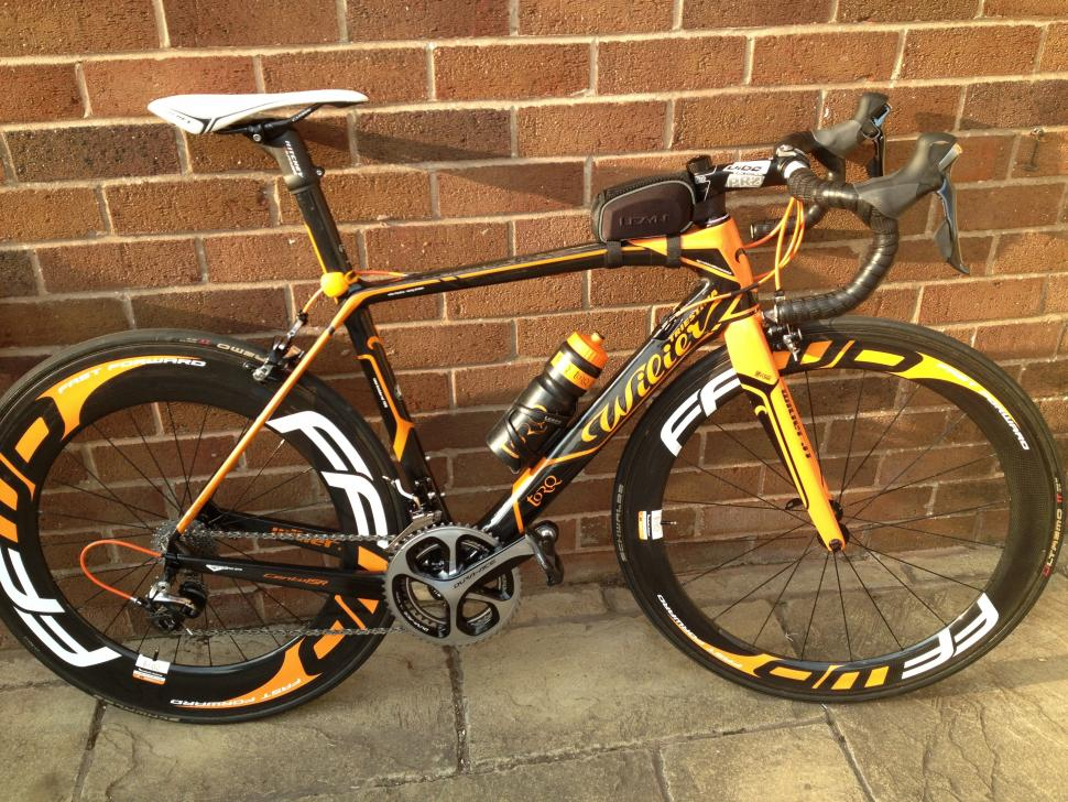 For Sale Wilier Cento Uno Sr Full Dura Ace 9000 With