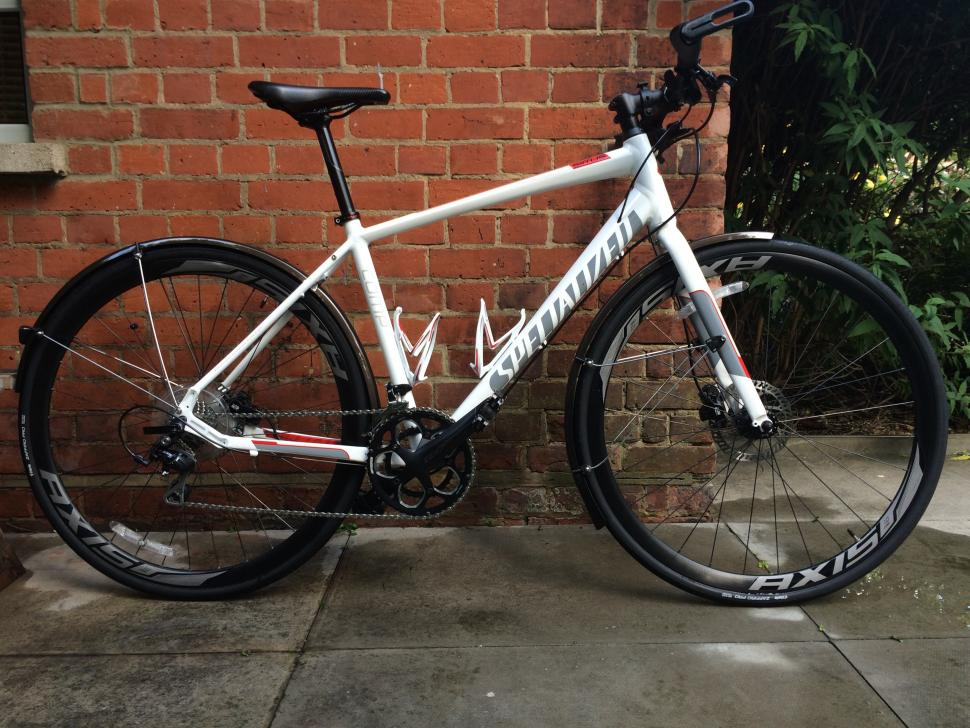 Specialized Sirrus Comp Disc 2014 hybrid/road/touring/commuting bike with hydraulic disc brakes