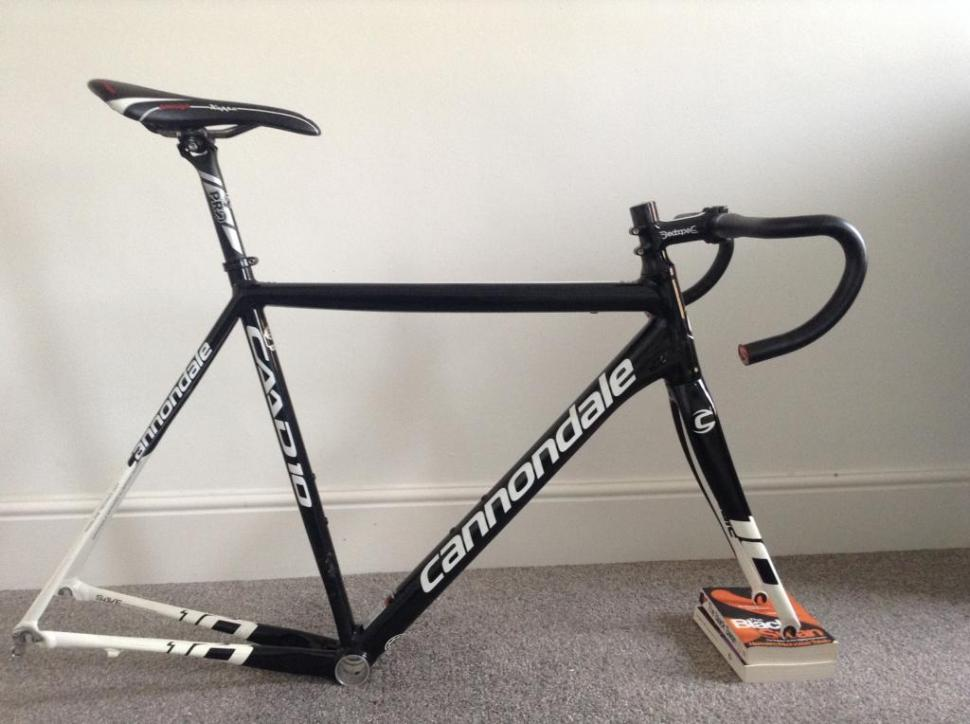 For sale: Cannondale Caad10 frameset size 56 (includes finishing kit ...