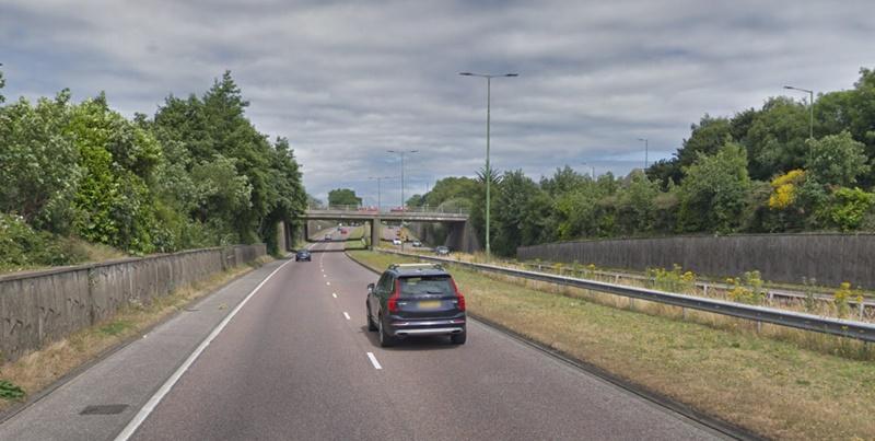 A338 Spur Road (via StreetView)
