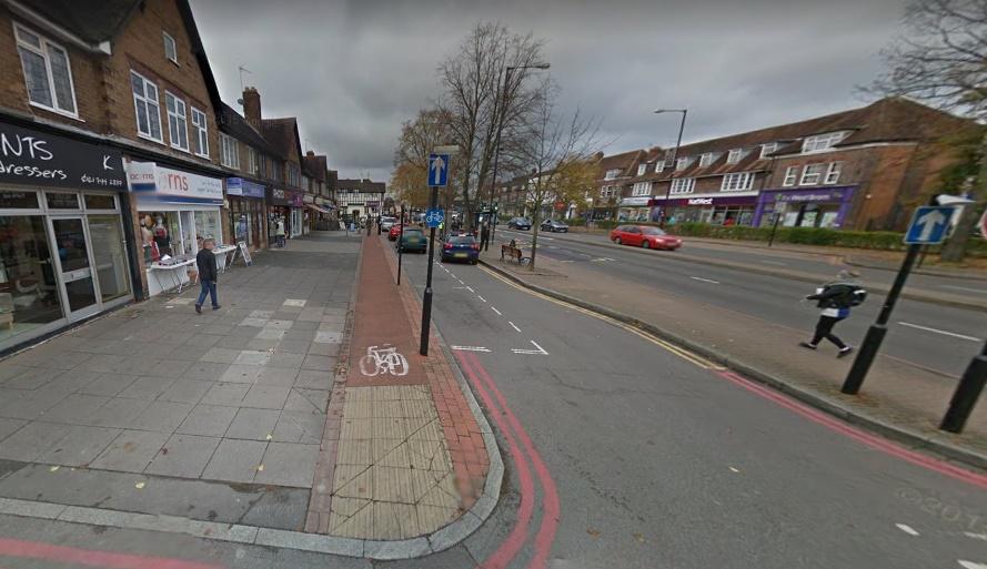 A34 cycle lane (via StreetView)