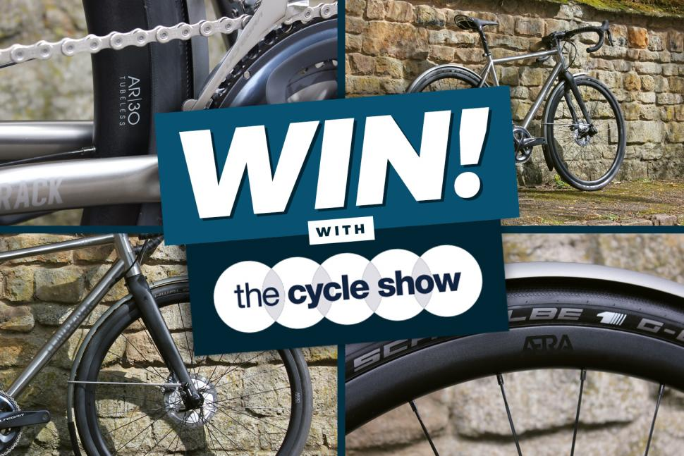 Cycle Show Giveaway! Win an ÆRA AR|30 Disc Wheelset | road cc