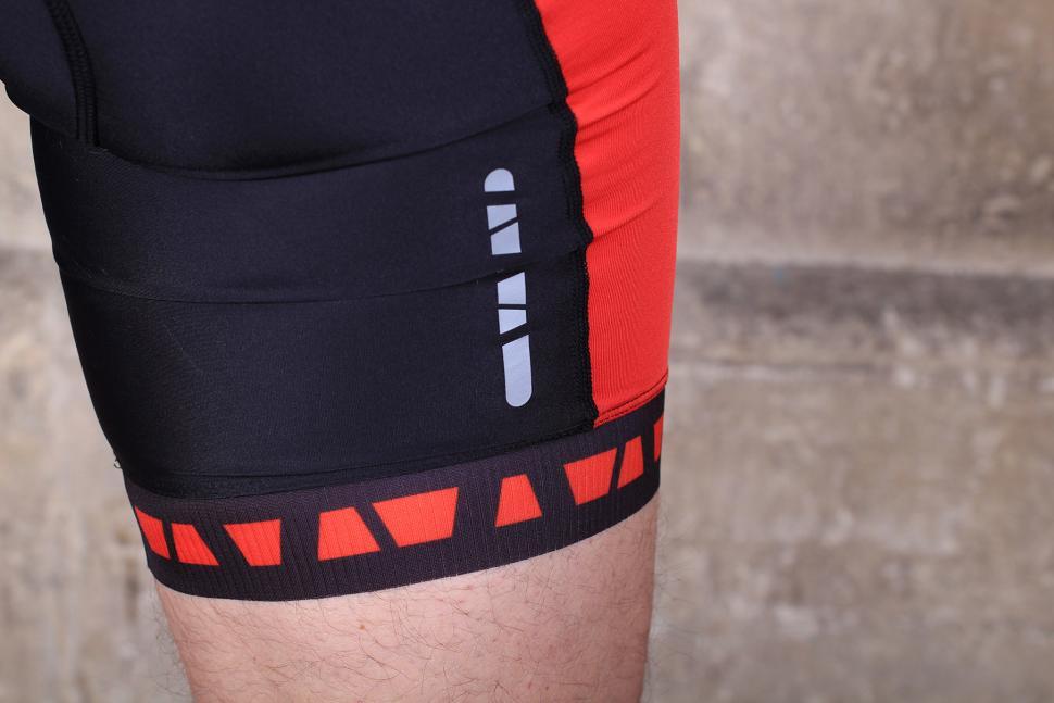 Aldi Mens Performance Bib Shorts - cuff.jpg