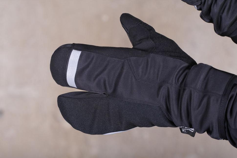 Aldi Waterproof Lobster Cycling Gloves - back.jpg