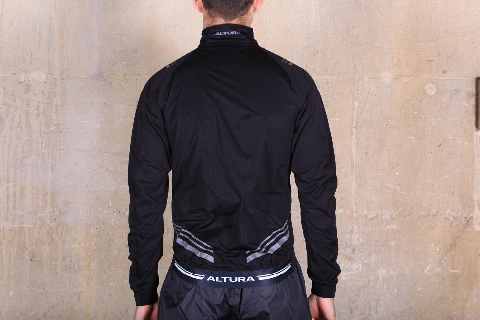 Altura Podium Elite Softshell Jacket - back.jpg