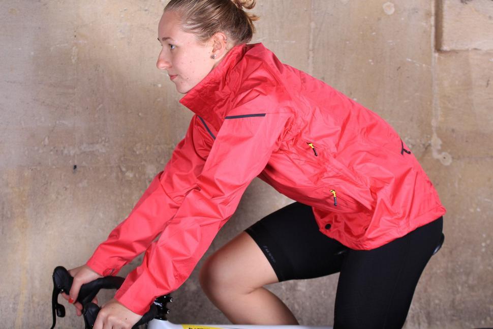Altura Womens Nevis III Waterproof Jacket - riding.jpg