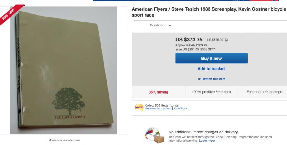 american flyers ebay listing