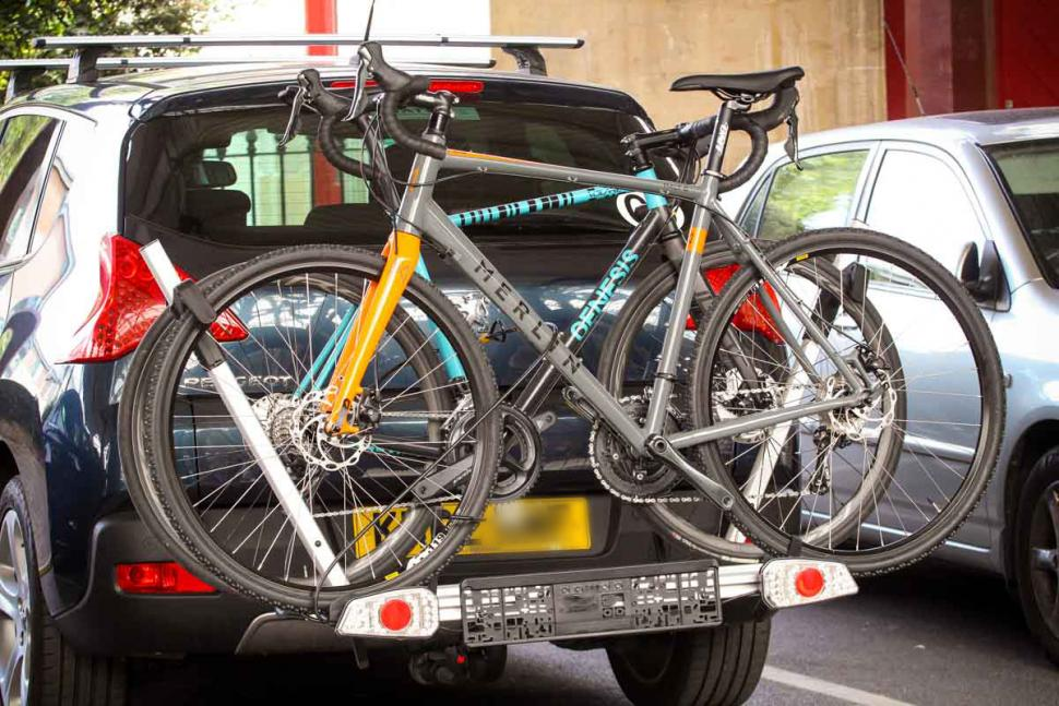 Review Auxtail Towball Mount 2 Bike Carrier Road Cc