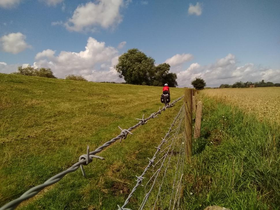Back in Britian. Yes, this was a signed cycle route!.jpg