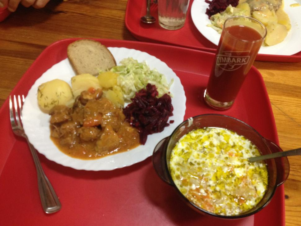 Baltics - canteen lunch.JPG