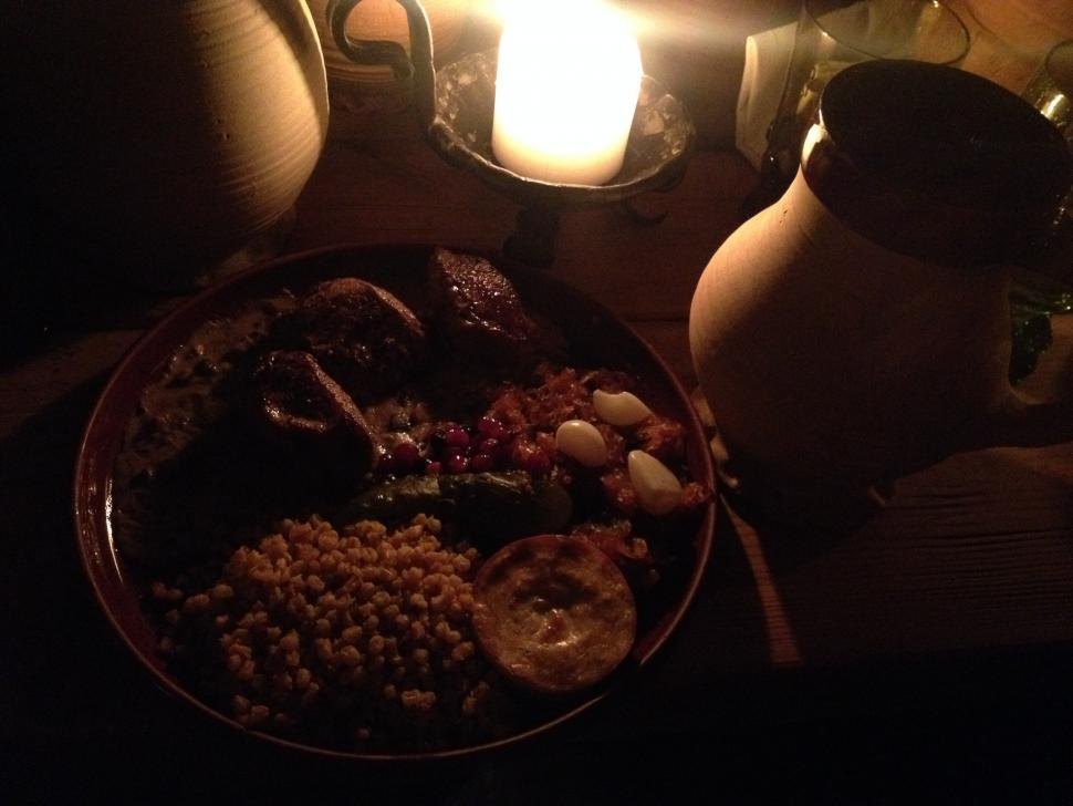 Baltics - medieval meal.JPG