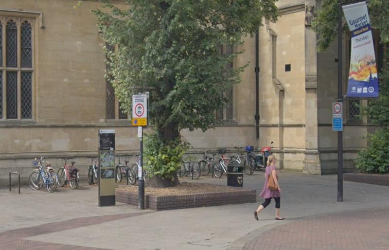 Bedford town centre (via StreetView)