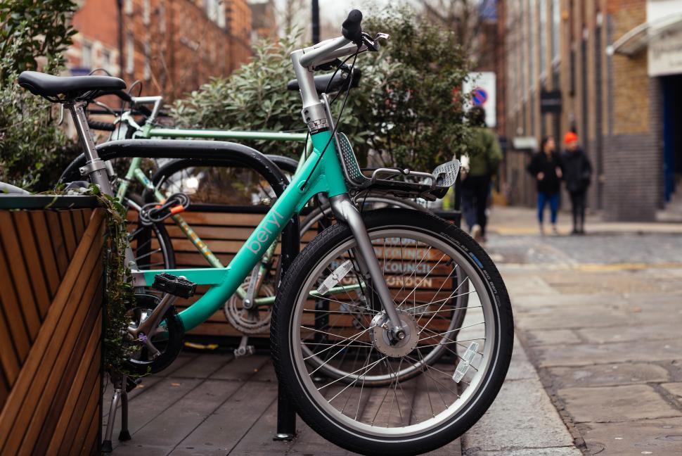 Beryl hire bike (picture credit Anna Rachel Photography)