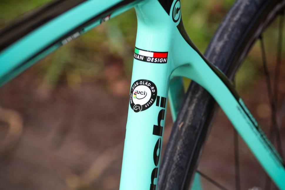 BIANCHI Oltre XR 2014 Frame Sticker Decal Set