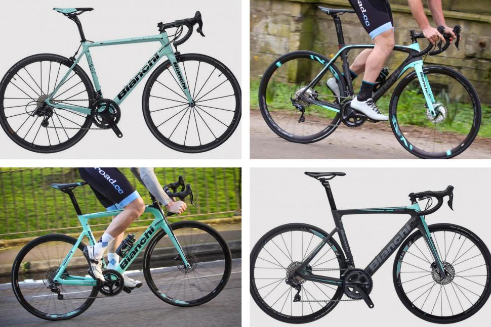 Bianchis 2019 road bikes March 2019