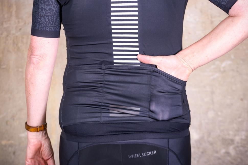 Bicycle Line Monza women's short sleeve jersey - pocket.jpg