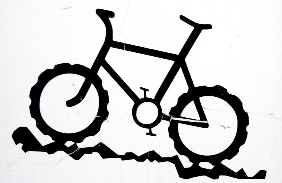 Bike sign at Dalby Forest trail centre.jpg