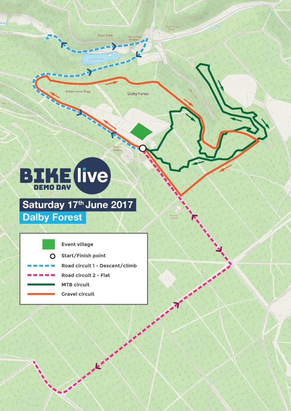 Bike Live Dalby Forest Check Out The Road Gravel Mountain Police Lights Circuit Electronic Circuits Pinterest Bikelivedalby Coursemaps 01