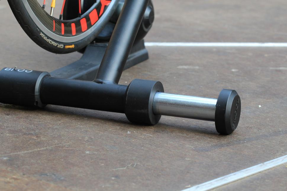 Bkool Pro Turbo Trainer and Simulator - extending foot.jpg