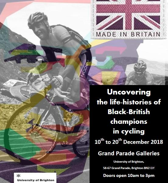 Black-British champions in cycling poster
