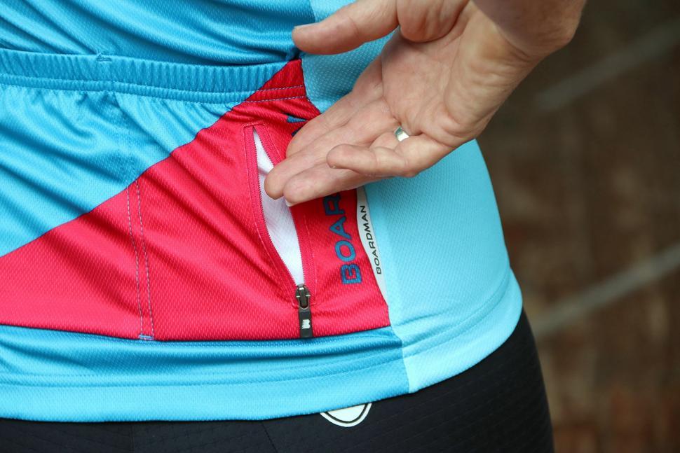 Boardman Womens Short Sleeve Jersey - zip pocket.jpg