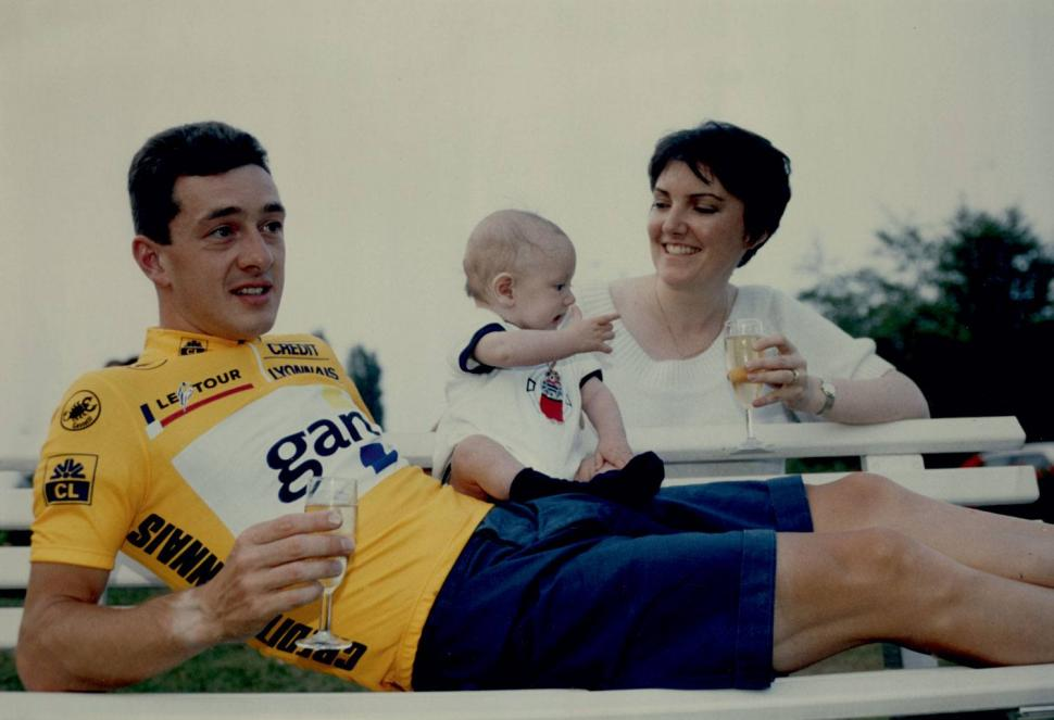 BoardmanTriumphsandTurbulence- George having his first drink (credit Chris Boardman).jpg