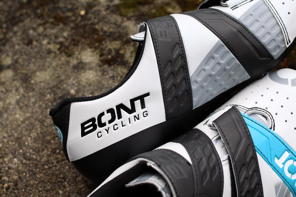 Bont Cycling Riot Road cycling shoes - logo.jpg