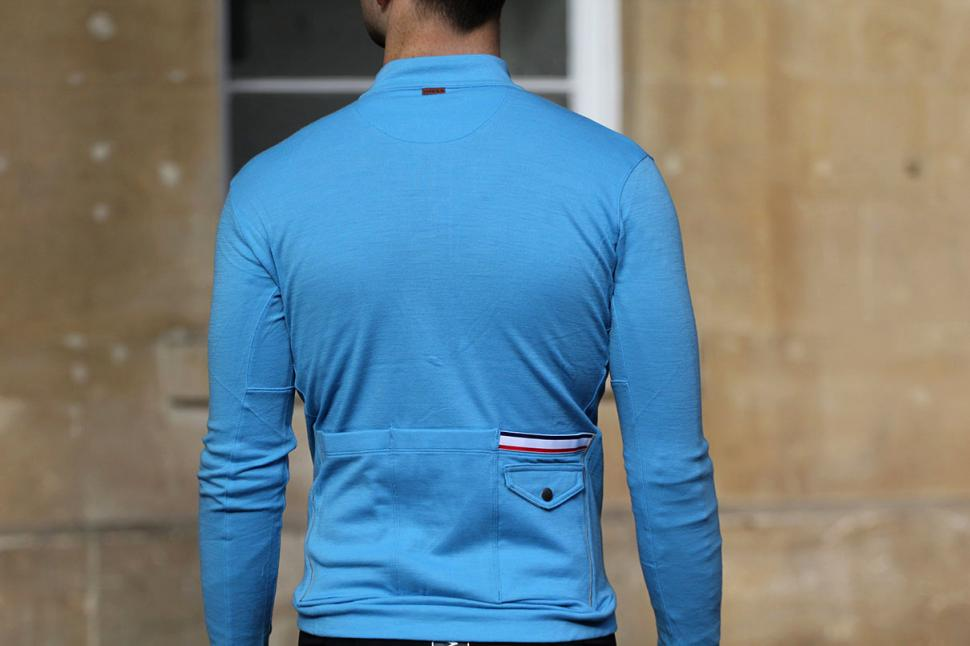 Bontrager Classique Thermal Long Sleeve Jersey - back.jpg