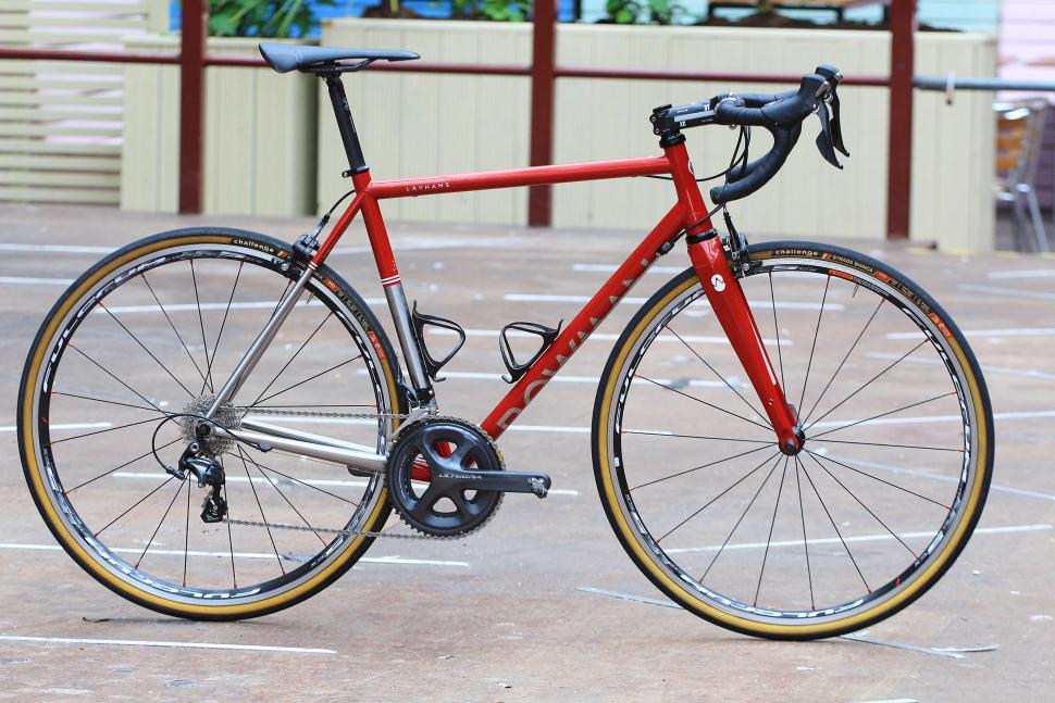First look: Bowman Cycles launch Layhams stainless steel road bike ...