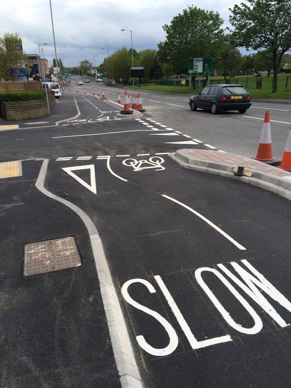Bradford cycle superhighway (picture credit Twitter usser LeeDotDash).jpg